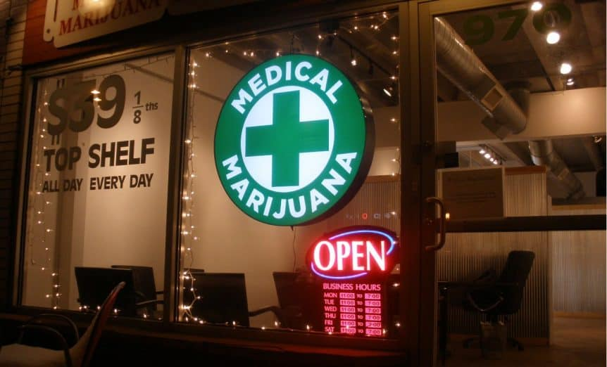 Open Marijuana Dispensary