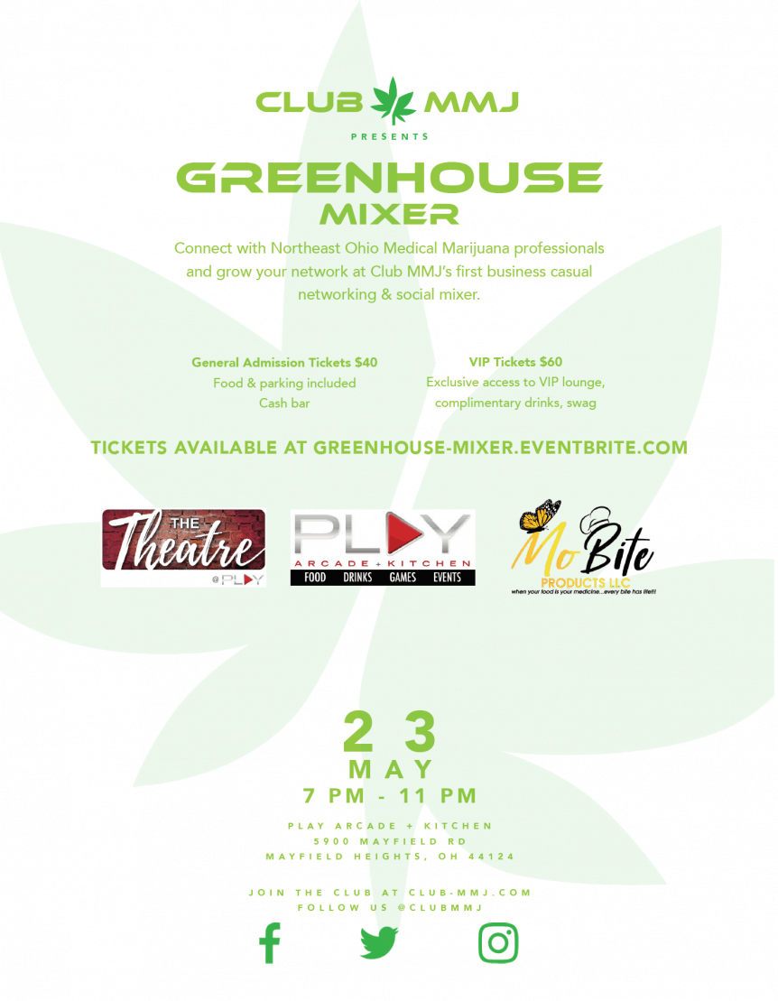 ClubMMJ Greenhouse Mixer - Cleveland