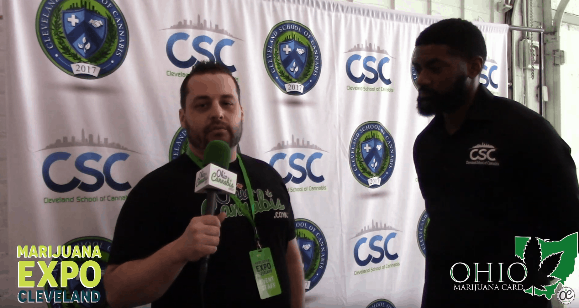 Johnny & Tyrone Russel from Cleveland School of Cannabis