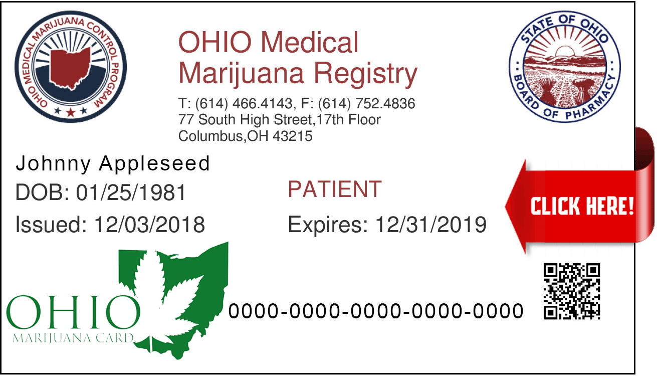 Ohio Medical Marijuana Patient Card